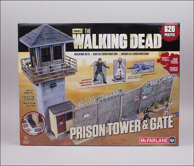 McFarlane Toys The Walking Dead Building Set - Prison Tower & Gate