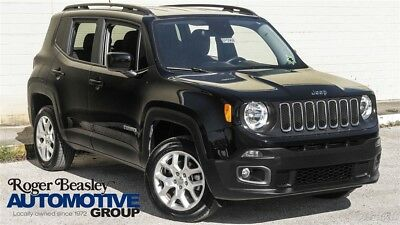 Jeep Renegade Latitude 2017 Jeep Renegade Latitude 2.4L I4 16V Automatic 4x4 SUV Premium Black