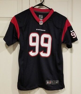 new arrive b66cf f1206 JJ Watt Houston Texans NFL Youth Nike Jersey M 10/12 Blue