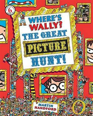 Where's Wally? The Great Picture Hunt - New Book Handford, Martin