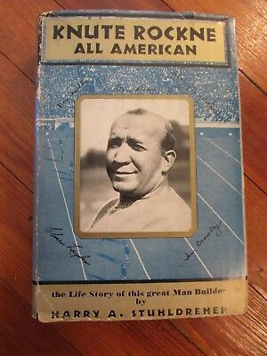 Knute Rockne All American, Harry Stuhldreher, Free Shipping......