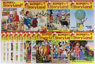Rupert In Storyland #26 to #40 complete run (Marvel 1984) 15 x issues