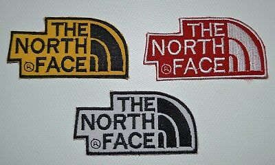 COLOUR NORTH FACE Embroidered-Iron-Sew-On-Patch-Dress badge biker sports jacket