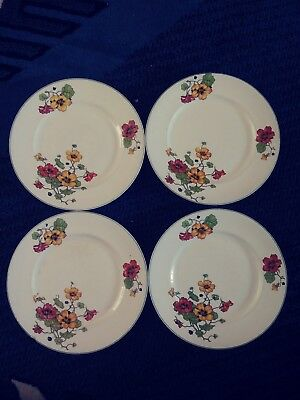 Edwin M Knowles Plates Set of Four