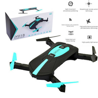 JY018 Mini Dron Foldable 2MP WIFI FPV Camera Drone Altitude Hold RC Quadcopter