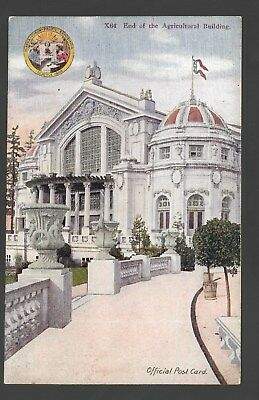 Official Postcard Agricultural Building Alaska-Yukon-Pacific Exposition 1909 X64