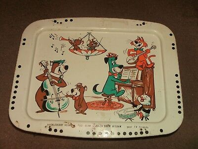 vintage yogi bear serving tray