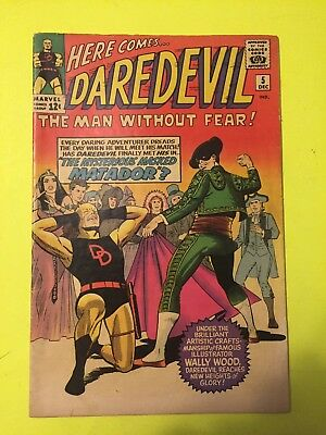 Daredevil #5 Old Costume. Wally Wood