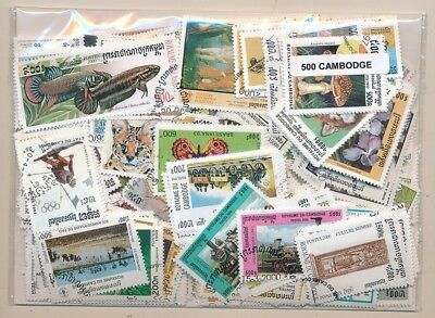 Cambodia US 500 stamps different
