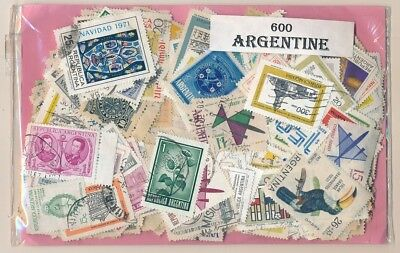 Argentina US 600 stamps different