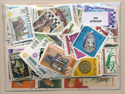 Africa US 500 stamps different