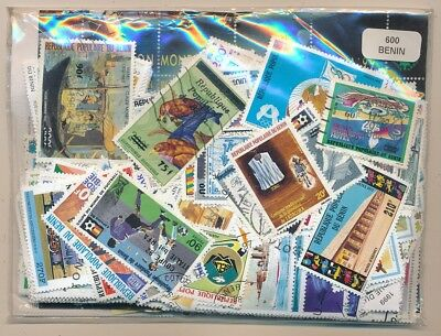 Benin US 600 stamps different