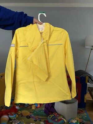 Hunter For Target Toddler Packable Rain Coat 2T Yellow Ready to Ship