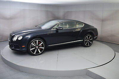 2015 Bentley Continental GT V8 S in Dark Sapphire with 2,194 miles 2015 BENTLEY CONTINENTAL GT V8 S IN DARK SAPPHIRE WITH LINEN INTERIOR LOW MILES