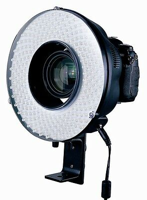 New 240 LED Video Light Continuous Camera Ring Sutdio Video Light  AC / DC