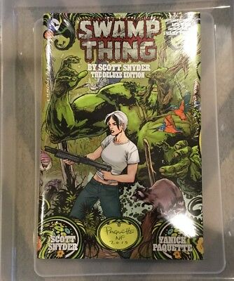 Swamp Thing HC (DC) The Deluxe Edition by Scott Snyder #1-1ST 2015 New Sealed