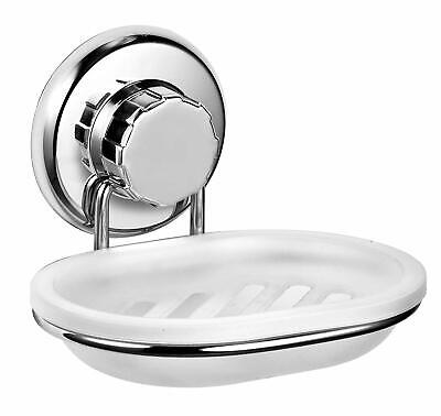 Stainless Steel InterDesign Sinkworks Two Piece Soap Dish Small Chrome