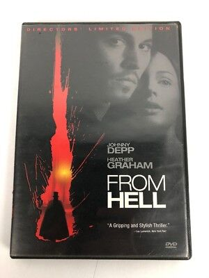 From Hell (Two-Disc Special Edition) DVD Depo - Fast Free Shipping