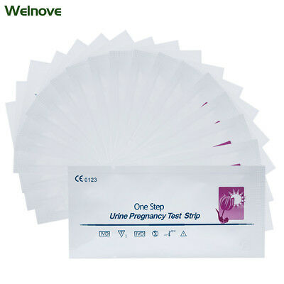 One Step 20 x Ultra Early Pregnancy Test Kits 10mIU Home Urine Test Strip D1307