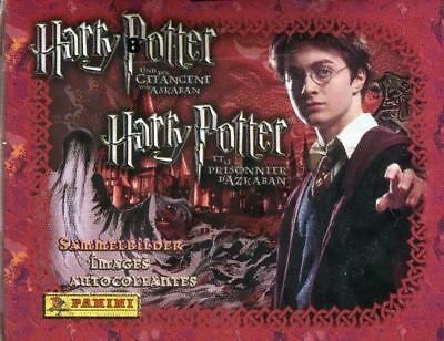 Harry Potter and the Prisoner of Azkaban Album Stickers Card Box