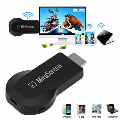 Mirascreen 1080P Wireless WiFi Display TV Dongle Receiver Media Airplay Miracast