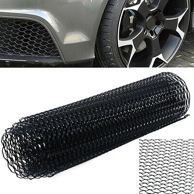 "40""x13"" Black Universal Aluminum Car Vehicle Body Grille Net Mesh Grill Section"