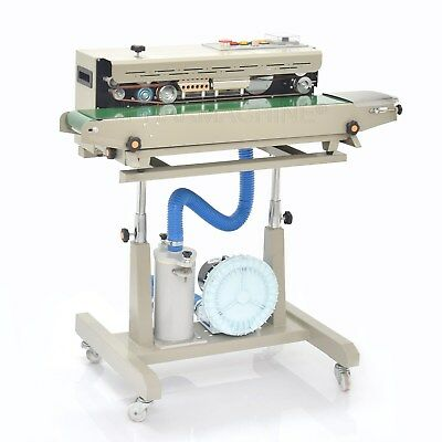 FR-1000 Automatic Continuous Plastic Bag Sealing Machine with Coding Printer