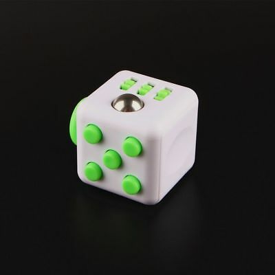 Magic Fidget Cube Anxiety Stress Relief Focus 6-side Gifts Adult Kids Toy Funny