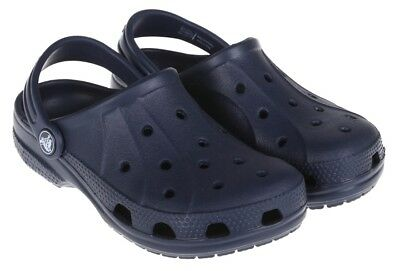 NEW Crocs Childrens Unisex Slip On Clog Sandal 'Ralen Clog K' Navy Size 10-11