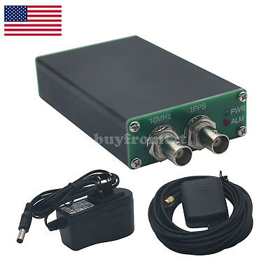 PLL-GPSDO GPS Tame Disciplined Clock Sine Wave GPS Receiver 10M Green Panel US