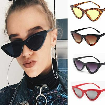 Women's Vintage Sunglasses Cat Eye Triangle Beach Ladies Eyewear Glasses Design