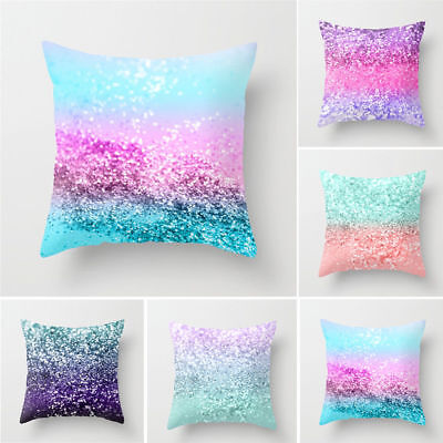 Multicolor Pillow Cover Print Sofa Waist Throw Cushion Case Comfortable Selling