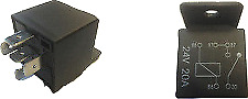 Robinson On/off Relay Switch 24V 20A 5 Pin Terminal With Bracket Truck Bus Ed010