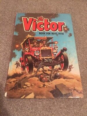 The Victor Book For Boys 1978 Annual. Not Beano Or Dandy