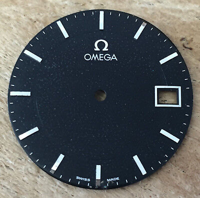 Omega Zifferblatt Schwarz #3044 Ø 28,0 mm Swiss Made T49