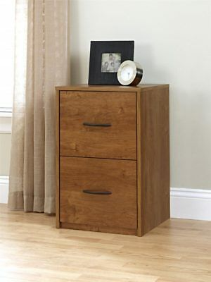 Hanging File Cabinet Small Wood 2 Drawer Letter Size Documents Vertical Upright