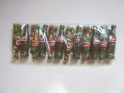 Vintage Coca Cola Mini Bottles Filled With Gum/candy Sealed Rare