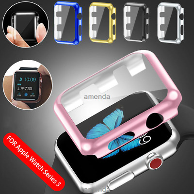 Apple Watch Slim Screen Protector Case for 38mm &42mm Front Cover iWatch 1 2 3 4