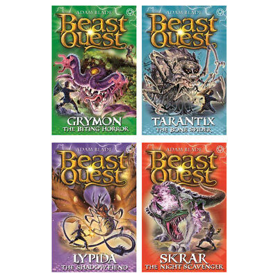 Beast Quest Series 21 Collection Book Pack 4 Books (RRP £19.96)