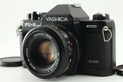 [MINT] YASHICA FX-3 SUPER 2000 35mm SLR Film Camera w/ 50mm F/1.9 From JAPAN