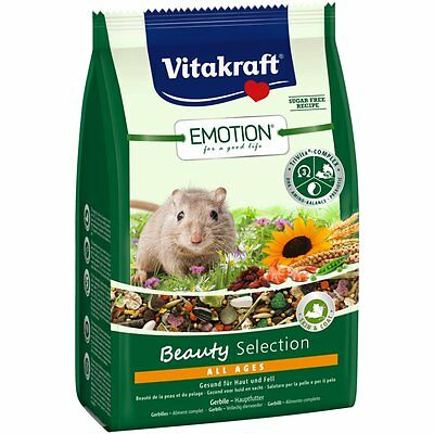 Vitakraft Emotion BEAUTY all ages , Gerbil - 300G - Comida gerbilfutter Jerbo