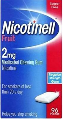 Nicotinell 2mg Medicated Chewing Gum 96 Pieces