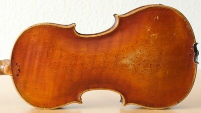 old violin 4/4 geige viola cello fiddle label ANDREAS AMATI