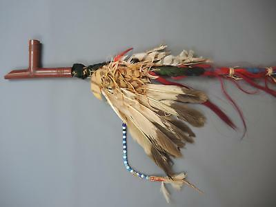 Sioux native american pipe  (published in Baldwin)