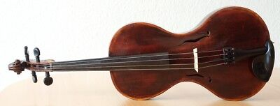"Very old labelled Vintage VIOLA ""Georges Chanot"" violin 小提琴 ヴァイオリン Bratsche"