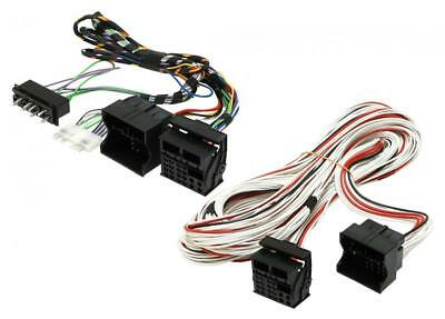 BMW X5 E53 00-06 radio fitting and amplifier bypass cable for cars with DSP amp