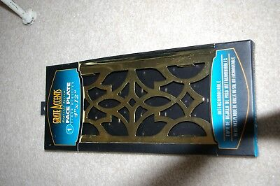 Grate Accents Brass Floor Register-NWT
