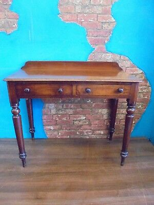 victorian mahogany antique table, side table, hall table, lamp table,