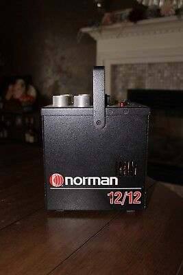 Norman 12/12 Power pack  strobe system