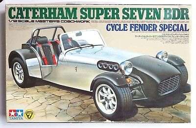 TAMIYA 1/12 Caterham Super Seven BDR Cycle Fender Master's Coachwork model kit